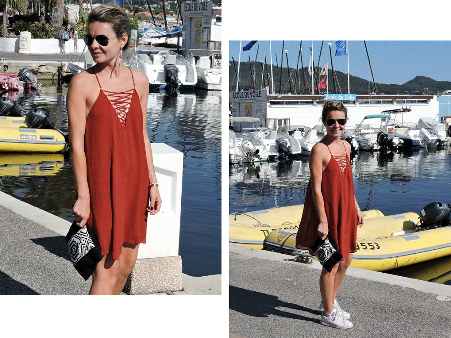 robe rouge h&m 2